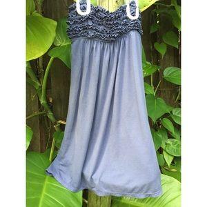 Victoria's Secret Dresses - Victoria's Secret Strapless Beach Cover Up Dress
